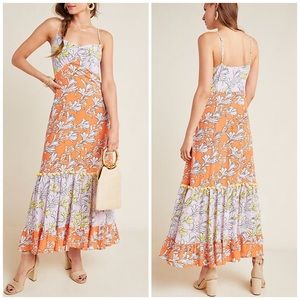 FARM RIO CULEBRA MAXI DRESS S